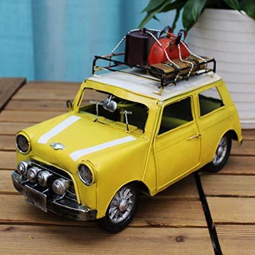 CKH Amerikaanse Retro Woonkamer TV Kabinet Wijnkast Decoratie Ambachten Decoratie Strijkijzer Klassieke Auto Model Home Decoraties
