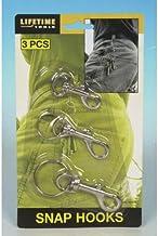 Lifetime Tools 42026 karabijnhaak en ringen, 3 stuks