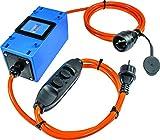 as–Schwabe 61744Compteur électrique Mixo 230V avec interrupteur de protection, MID...