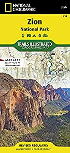Zion National Park (National Geographic Trails Illustrated Map, 214) by National Geographic Maps