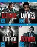 Luther - Staffel 1-4 (Box 1-3 + 4) im Set - Deutsche Originalware [5 Blu-rays]