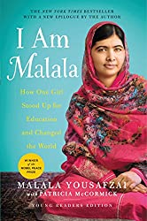 i am malala young readers blue book cover