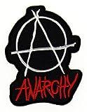 Aufnäher Bügelbild Aufbügler Iron on Patches Applikation Anarchy Punk UK EmO