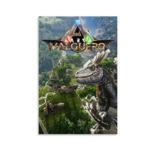 xiaoxiami Ark Survival Evolution Poster, dekoratives Gemälde, Leinwand, Wandkunst, Wohnzimmer, Poster, Schlafzimmer, Gemälde, 40 x 60 cm