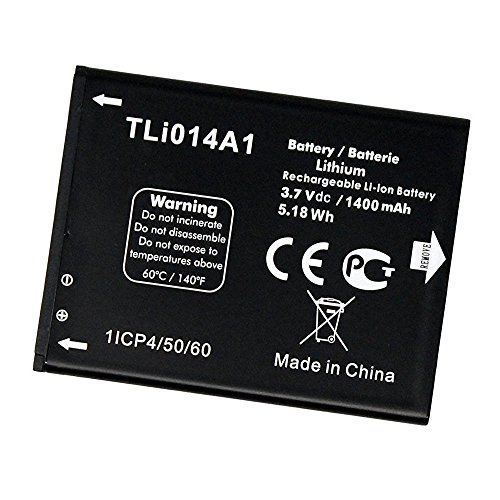 Replacement Battery TLI014A1 for Alcatel OneTouch Glory 2, Inspire 2, M POP