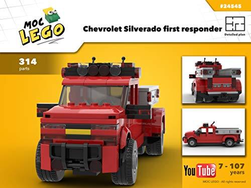 Chevrolet Silverado first responder (Instruction Only): MOC LEGO