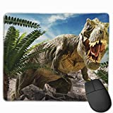 Mouse Pad, Dinosaur Mousepad Non-Slip Rubber Gaming Mouse Pad Rectangle Mouse Pads 10'x12' for Computers Laptop