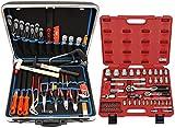 Famex 620-09 - Maletín de herramientas de alta calidad (plástico duro ABS, 32 L, 66 piezas)