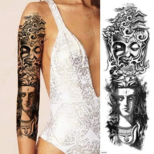 Handaxian 3pcsBracelet Tattoo Impermeable Tatuaje Pegatina Calamar ...