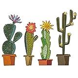Sizzix 665365 - Set de Troqueles Thinlits 9PK Funky Cactus por Tim Holtz