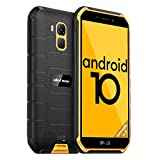 Ulefone Armor X7 Günstige Outdoor Handys - Android 10 IP68/IP69K Wasserdichtes Smartphone ohne Vertrag Quad-Core 2+16GB 5,0-Zoll-Display 13MP Hauptkamera 4000mAh Batterie Fingerabdruck-ID (Gelb)