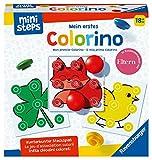 Ravensburger Ministeps 4186 Mon premier Colorino Jeu de jeu classique pour apprendre les couleurs à partir de 18 mois