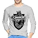 ブルームン Tシャツ 長袖 ハリーポッター Harry Potter トレーナー シャツ 上着 ファッション カットソー M Gray 綿 メンズ レディース
