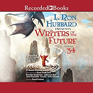 L. Ron Hubbard Presents: Writers of the Future, Volume 34 audiobook cover art