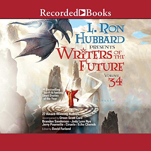 Couverture de L. Ron Hubbard Presents: Writers of the Future, Volume 34