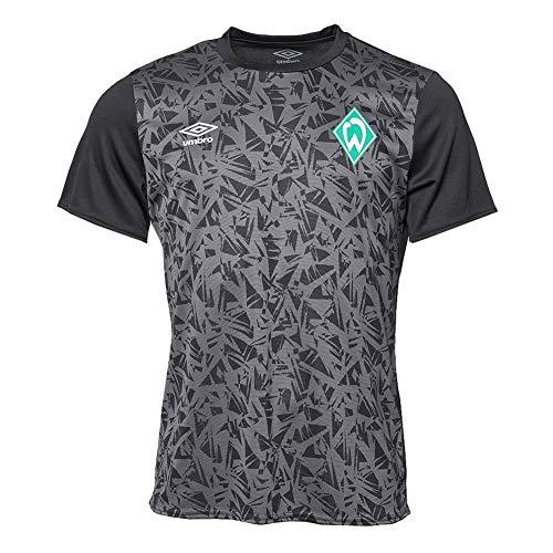 UMBRO Werder Bremen Warm Up Trikot (L, Black)