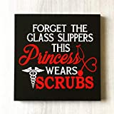 prz0vprz0v Scrub Nurse Sign Nurse Wall Decor Nurse Gift Nurse Office Decor Nurse Sign Nursing Student Gift Nursing Gift for Nurse