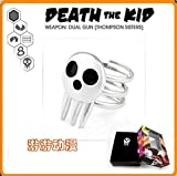 Costumebuy2009 Soul Eater Shinigami Meister Lord Death The Kid Logo Symbol Cosplay Silver Ring