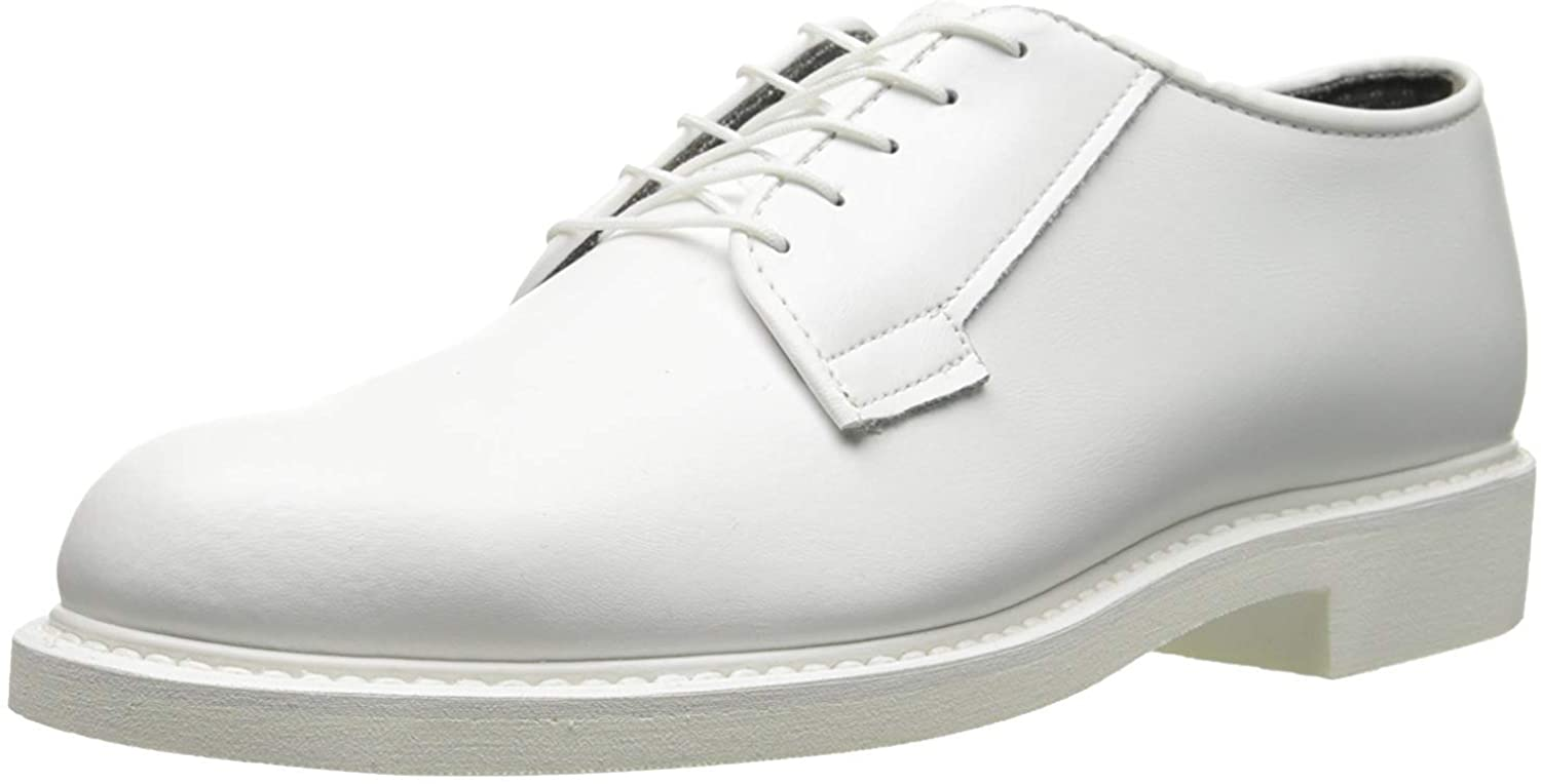 Bates Mens High Gloss Oxfords Casual Dress Shoes Breathable Lining E00131