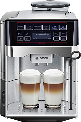 Bosch TES60729RW macchina per caffè Libera installazione Macchina per espresso 1,7 L Automatica