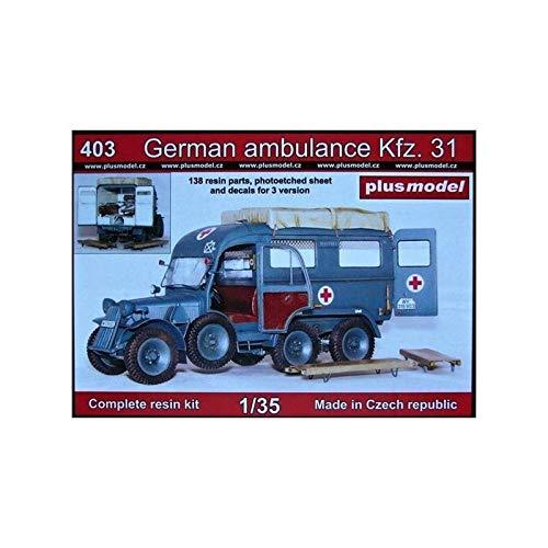 Plus-Model Ambulancia Alemana Kfz.31 Steyr 640 (01:35)