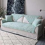 GH-YS Funda de algodón Lavado Reversible, Funda de sofá Chaise seccional en Forma de L, Funda de sofá Acolchada Plegable, Protector de Muebles Bordado, 1PCS-b, Juego de 70l y 5 Piezas