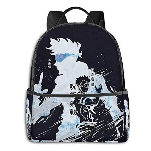 AOOEDM Backpack Jujutsu Kaisen Men Women Backpack Lightening School Bag Multi-Purpose Sports Bag Bulk Shoulder Bag for Sports Gym Yoga