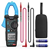 ACEGMET Digital Clamp Meter Measured for AC Current 600A Clamp Multimeter 6000 Counts NCV Function and AC/DC Voltage with Resistance Tester Amp Ohm Meter Capacitance Auto Range Ac Current Tester