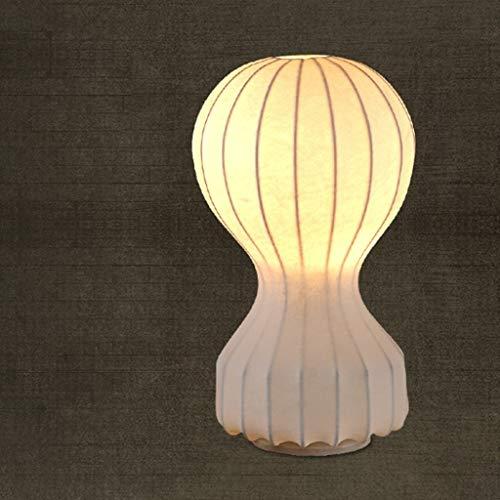 YUXIwang Lámparas de Mesa, Personalidad Simple Globo de Aire Caliente de la lámpara, el Estudio de la Sala Dormitorio de Noche Las Luces de Lectura Creativa de la Noche Retro Luz, Pequeño Encendiendo