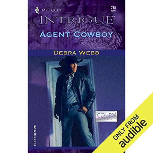 Agent Cowboy audiobook cover art