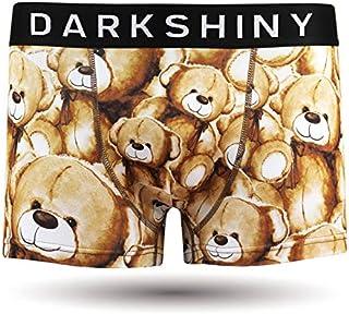 [DARK SHINY(ダークシャイニー)] ボクサーパンツ メンズ TEDDY BEAR テディベア(YLMM01)
