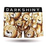 DARK SHINY(ダークシャイニー) ボクサーパンツ メンズ TEDDY BEAR テディベア(L)
