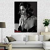 Hd Leinwand Poster Emilia Clarke Malerei Wandkunst