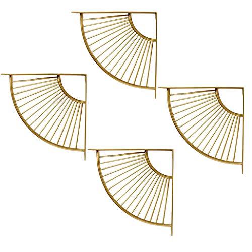 HUIHUI plankhoek, wandplank plankdrager plankdrager driehoekige beugel geluidswandhouder plankhouder inclusief schroeven (zonder plank)