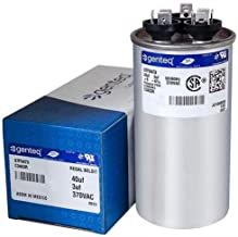 Kenmore - 40 + 3 uF MFD x 370 VAC GE Industrial Replacement Dual Capacitor Round # C3403R / 97F9473