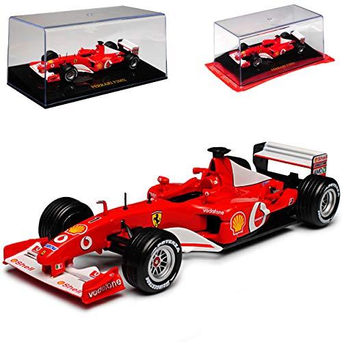 Ixo Ferrari F2002 Michael Schumacher 2002 Formel 1 Weltmeister 1/43 Modell Auto
