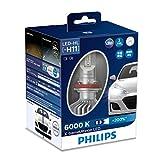 PHILIPS(フィリップス) ヘッドライト LED バルブ H11 6000K 1350lm 12V 22W エクストリームアルティノン X-treme Ultinon 車検対応 3年保証 2個入り 11362XUX2