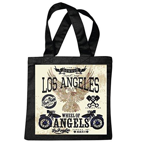 Bolsillo Bolso Bolsa Los Angeles Angels RUEDA DE PASEO PARA MOTORISTA libre...
