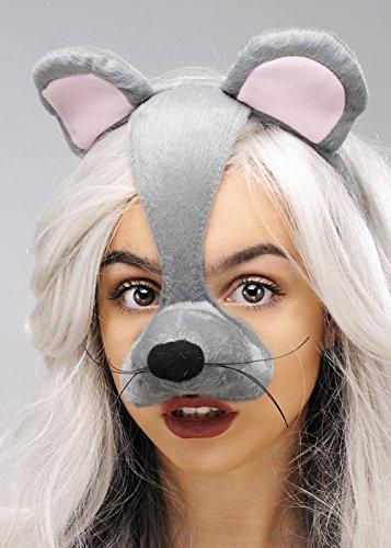 Struts Fancy Dress Maus Maske auf Stirnband