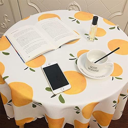 sans_marque Paño de mesa, paño de mesa de color sólido paño de mesa, a prueba de polvo y a prueba de encogimiento, utilizado para la decoración de mesa de picnic de la cocina 80* 120CM