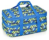 VP Home Double Casserole Insulated Travel Carry Bag (Geo Weave)