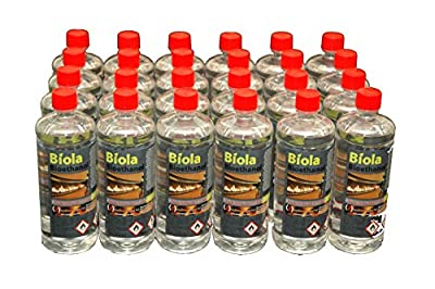 BIOETHANOL 24L 'BIOLA' SUPERIOR FUEL FREE DELIVERY UK AND IRELAND. Smoke-Free, Odour-Free Bioethanol Fuel for use in fires and stoves.