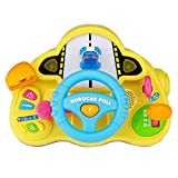 Robocar Poli My First Driving Steering Wheel Toy for Kids – Pretend Play Learning Educational Toys