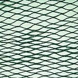 Nutley's Kitchen Gardens FLE07BN5 - Malla antipájaros (5 x 6 m), Color Verde