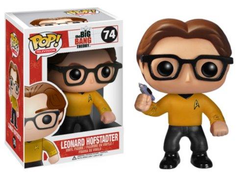 Funko - Pdf00003789 - Figurine Cinéma - The Big Bang Theory - Pop - Leonard Star Trek