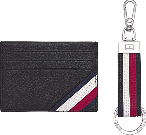 Tommy Hilfiger heren portemonnee DOWNTOWN CC HOLDER & KEY FOB