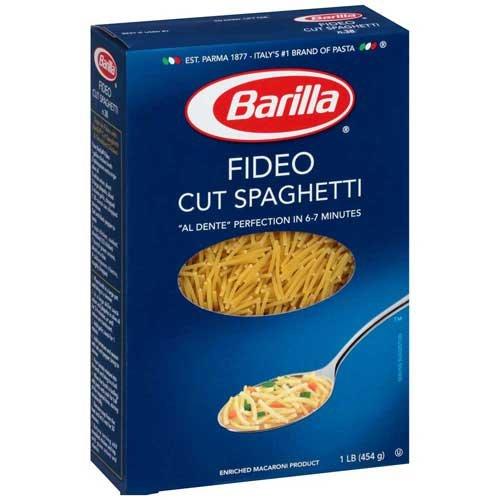 Barilla Cut Spaghetti Pasta of Sale 16 security Pack oz