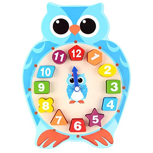 cute owl clock for kids