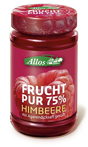 Allos 'Frucht Pur 75%' Himbeer, 6er Pack (6 x 250 g)