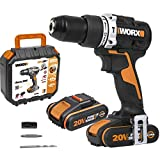 Worx WX352 Taladro Percutor Brushless 20V 2.0Ah 2 Bat